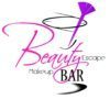Beauty Escape Makeup Bar Sticky Logo